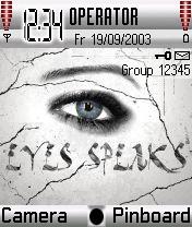 Eyes Speak Theme Mobile Theme