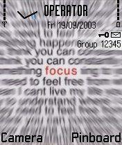 Focu Nokia Theme Mobile Theme