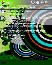 Circles Theme Mobile Theme