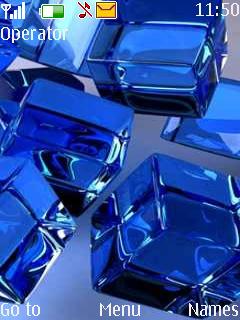 3D Cubes Theme Mobile Theme