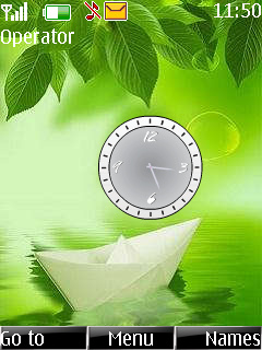 Boat Clock Theme Mobile Theme