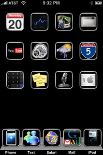 S70 IPhone Theme Mobile Theme