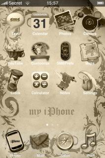 Sephia Theme Mobile Theme