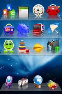 Toys On Shelves Theme Mobile Theme