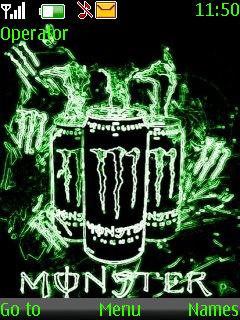Monster Energy Theme Mobile Theme