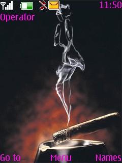 Smoke Theme Mobile Theme