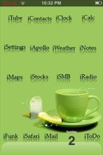 Tea Time Theme Mobile Theme