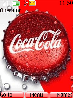 Coca Cola Theme Mobile Theme