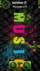 Music In Colour Theme Mobile Theme