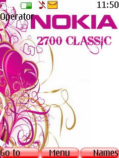 Nokia 2700 Theme Mobile Theme