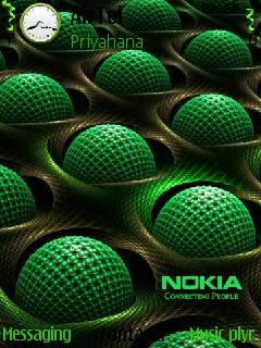 3D Nokia Theme Mobile Theme