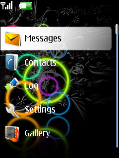 Colorful Circles Nokia Theme Mobile Theme