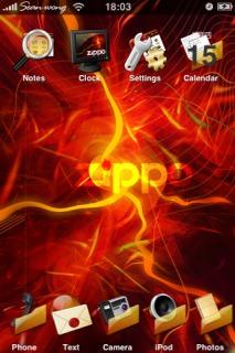 Zippo Theme Mobile Theme