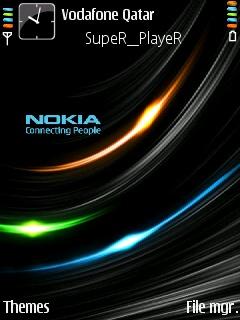 Abstract Nokia Theme Mobile Theme