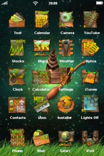 Black Magic Theme Mobile Theme