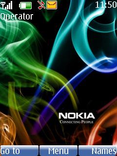 Nokia Smoke Theme Mobile Theme
