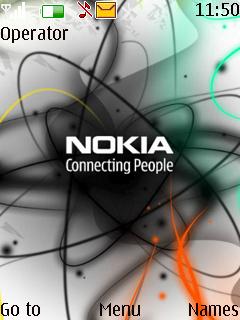 Nokia Colours Mobile Theme