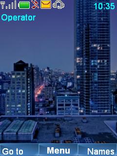 Manhattan Night Mobile Theme