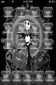Jack Skellington Mobile Theme
