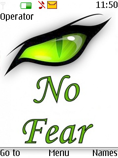 No Fear  Mobile Theme