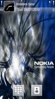 Nokia Blue Mobile Theme