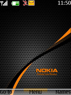 Nokia Invisible Mobile Theme