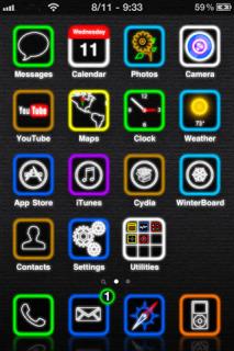 Celeste Mobile Theme