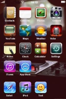 Avant HD Mobile Theme