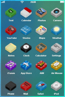 Colour Box Mobile Theme