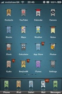 Labeled Mobile Theme