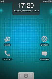 My Android Simplistic Mobile Theme