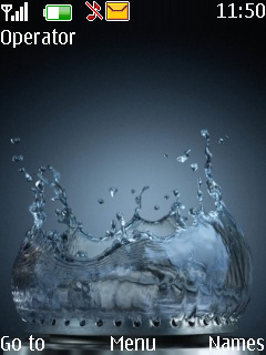 Water Gas Ring Mobile Theme
