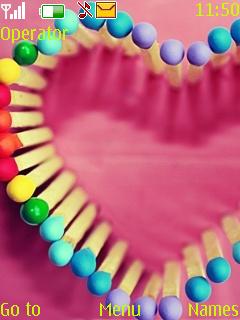 Color Sticks Mobile Theme
