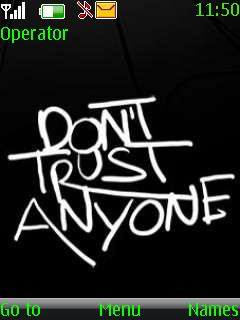 Dont Trust Mobile Theme