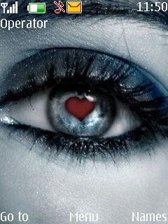 Eye Love Mobile Theme