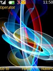 Color Lights Mobile Theme