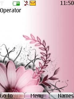 Pink Mobile Theme