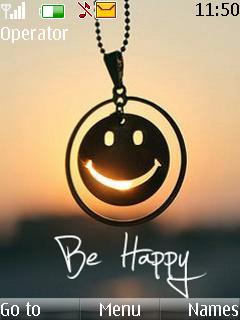 Be Happy Mobile Theme