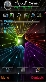 Star Color Mobile Theme