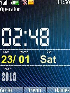Time Theme Mobile Theme