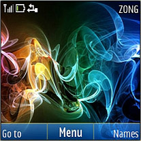 Smoke Cloud Mobile Theme