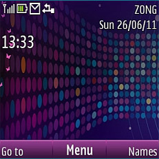 Round Colors Mobile Theme