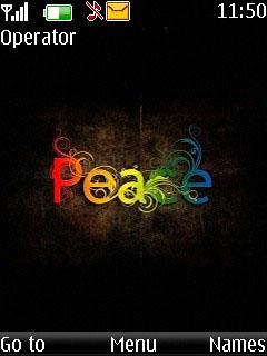 Peace Mobile Theme