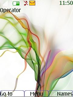 Soft Colors Mobile Theme