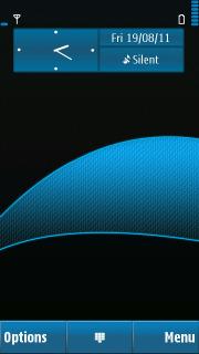 Curve Blue Mobile Theme