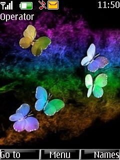 Butterfflies Mobile Theme