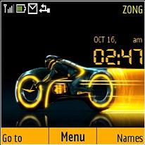 Tron Legacy Mobile Theme