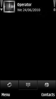 Blacky Simple Mobile Theme