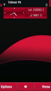 Curve Rose Mobile Theme