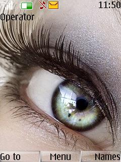 Beautiful Eye Mobile Theme